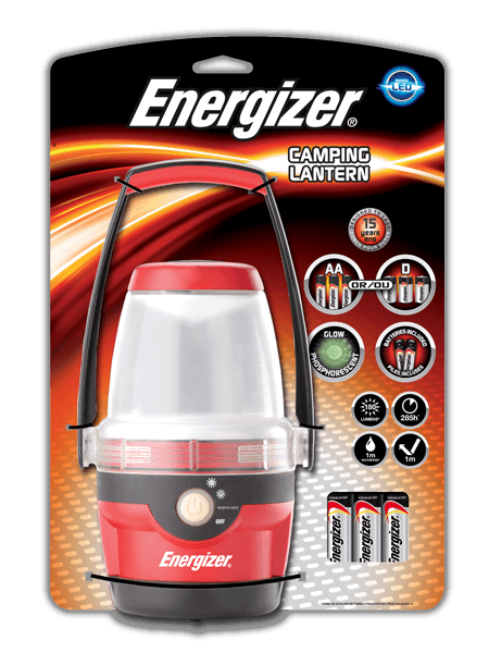Energizer Led Camping Lantern For The Great Outdoors