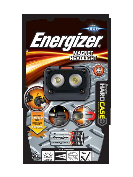 Energizer® HardCase Magnet Headlight