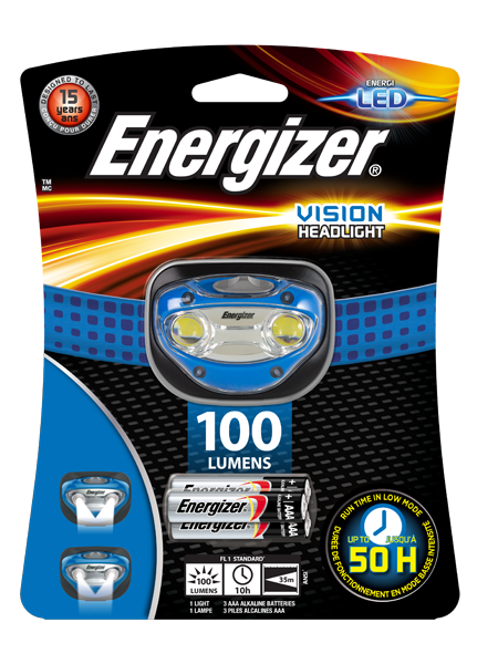 Energizer® Vision headlight