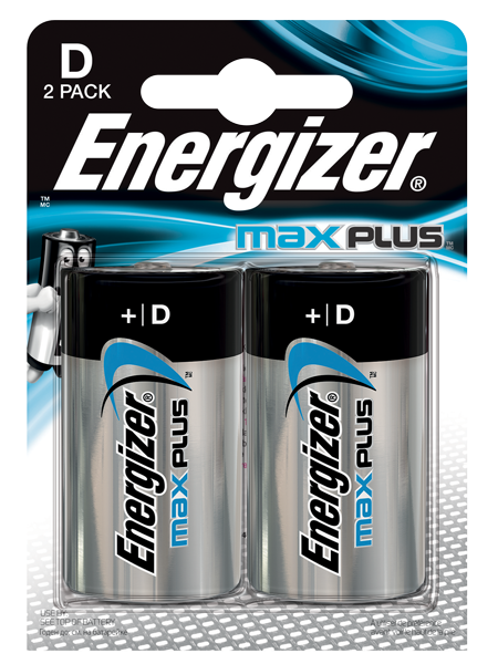 ENERGIZER ® MAX PLUS ™ – D