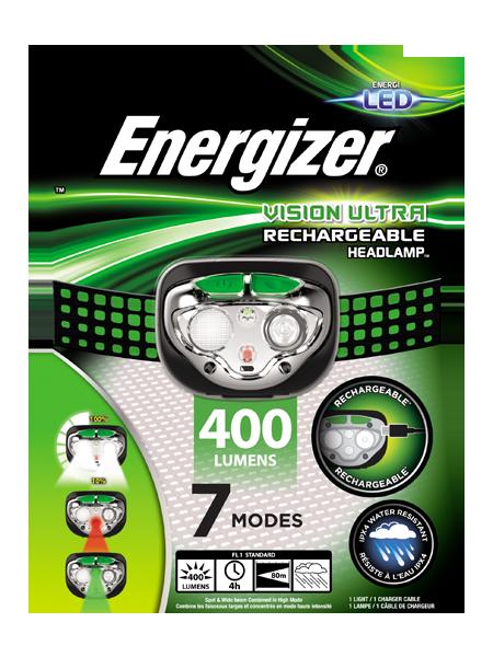 ENERGIZER® Rechargeable Headlight