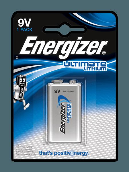 Energizer® Ultimate Lithium Batterien – 9V
