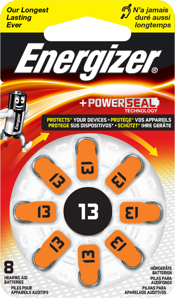 Energizer® Hörgeräte-Batterie – 13