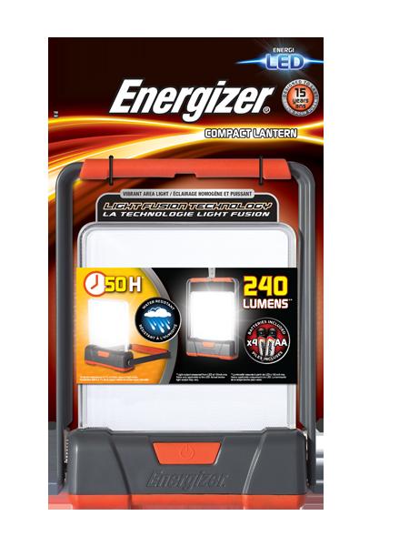 Energizer<sup>®</sup> Fusion Compact Lantern