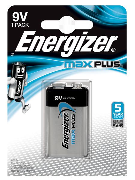 ENERGIZER ® MAX PLUS ™ – 9V