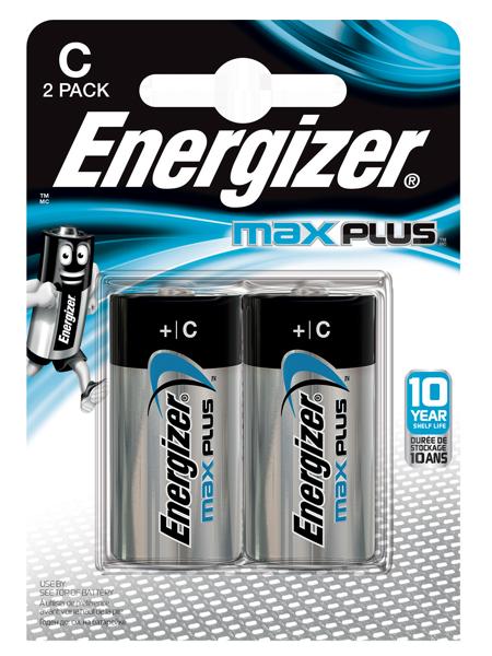 ENERGIZER ® MAX PLUS ™ – C