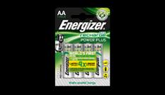 Pilas recargables Energizer® Power Plus - AA
