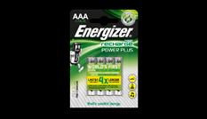 Pilas recargables Energizer® Power Plus - AAA