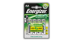 Piles Energizer® Recharge Power Plus - AA