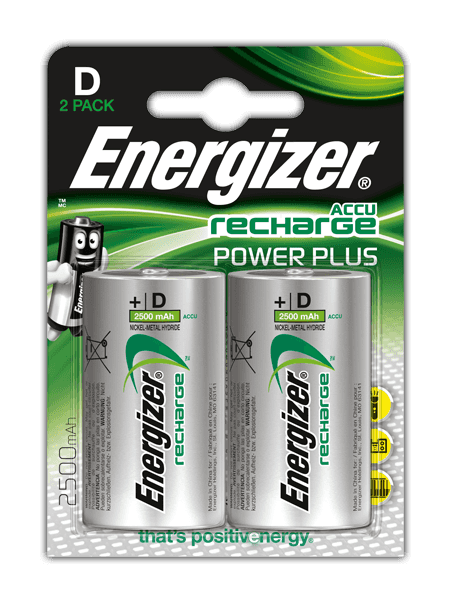 Piles Energizer® Recharge Power Plus- D