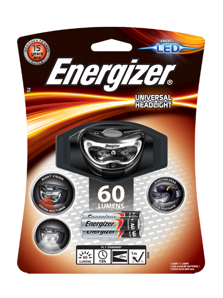 Energizer® Universal Headlight