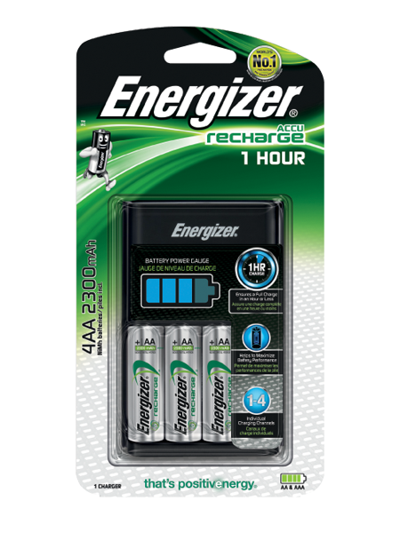 Energizer 1 Hour Charger French