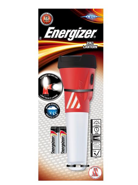 ENERGIZER® 2-IN-1 LANTERN HANDHELD