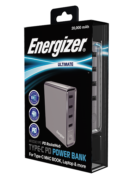 Energizer Power on the Go Charger Irish