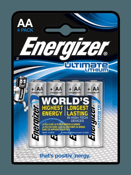 Energizer® Ultimate Lithium elemek – AA