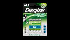 Energizer® Recharge Extreme akkumulátorok - AAA