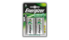 Energizer® Recharge Power Plus akkumulátorok - D