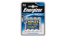 Batterie Energizer® Ultimate Litio - AA