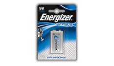 Batterie Energizer® Ultimate Litio - 9V