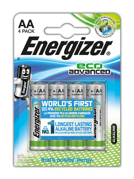 Batterie Energizer® EcoAdvanced AA