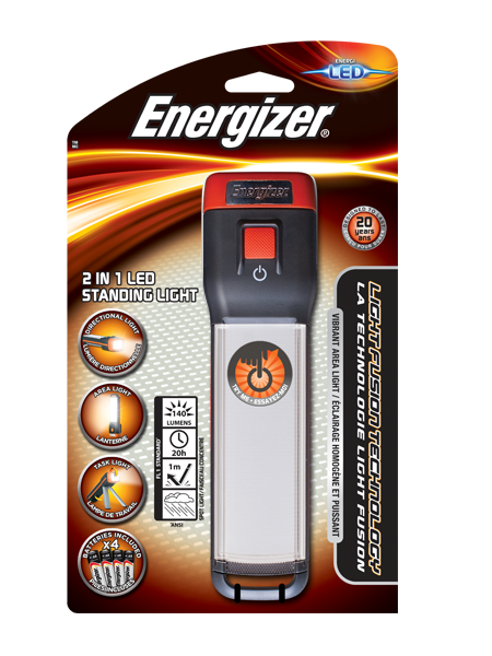 Energizer® Fusion 2 in 1 Standing Light