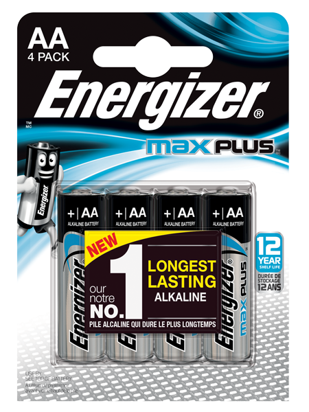 ENERGIZER ® MAX PLUS ™ -AA