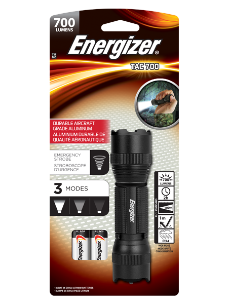 ENERGIZER® Tactical Light 700