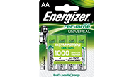Аккумуляторы Energizer® Universal- AA