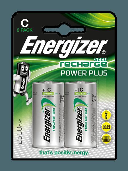 Energizer® Аккумуляторы Power Plus – C