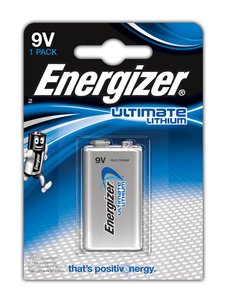 Батарейки Energizer® Ultimate Lithium – 9V