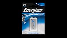Батарейки Energizer® Ultimate Lithium - 9V