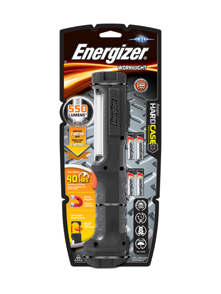 Energizer® Hard Case Work Light