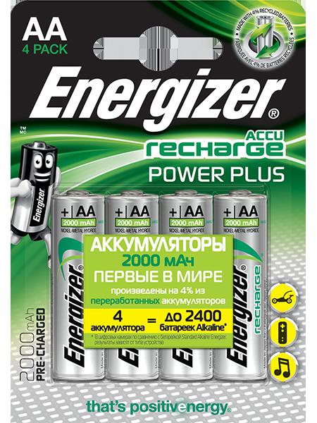 Аккумуляторы Energizer® Power Plus – AA