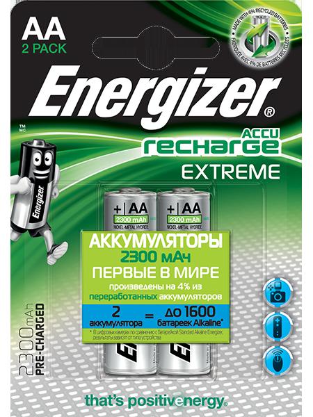 Energizer® Аккумуляторы Extreme – AA
