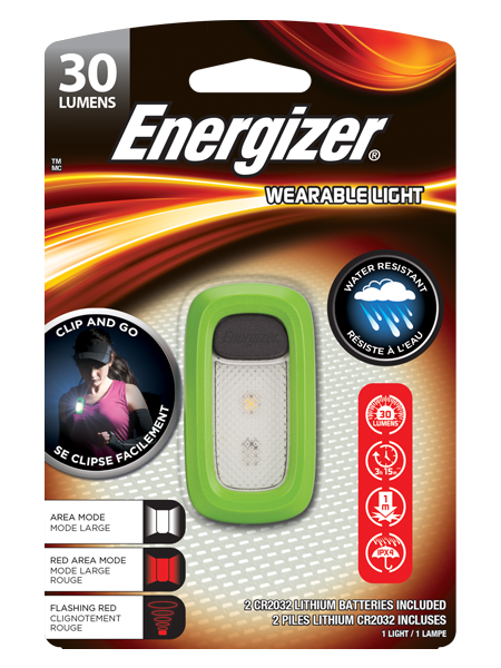 ENERGIZER® Wearable light