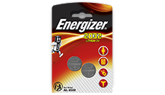 Energizer® Electronic Batteries - CR2032