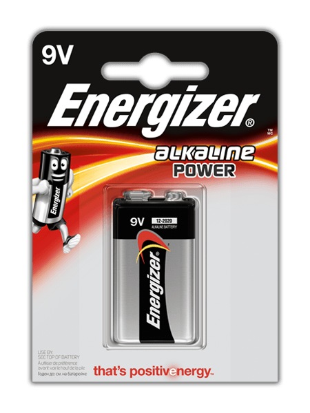 Energizer® Alkaline Power – 9V