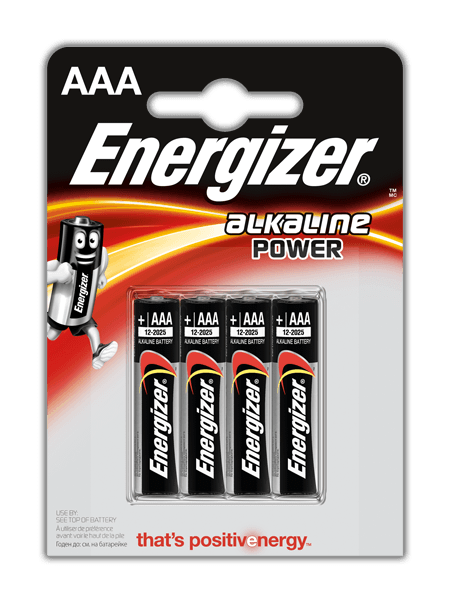 Batterie Energizer® Alkaline Power – AAA