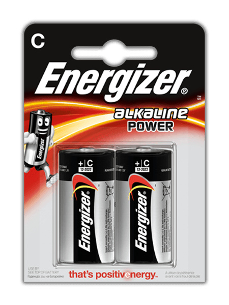 Energizer® Alkaline Power – C
