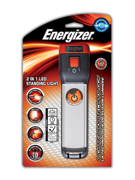 Energizer<sup>&reg;</sup> Fusion 2 in 1 Standing Light