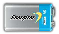 Energizer<sup>®</sup> Advanced - 9V