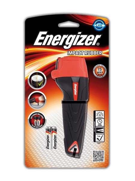 Energizer<sup>&reg;</sup> Impact Rubber 2AAA