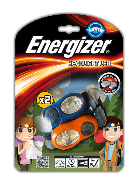 Energizer® Kids Headlight Twin Pack