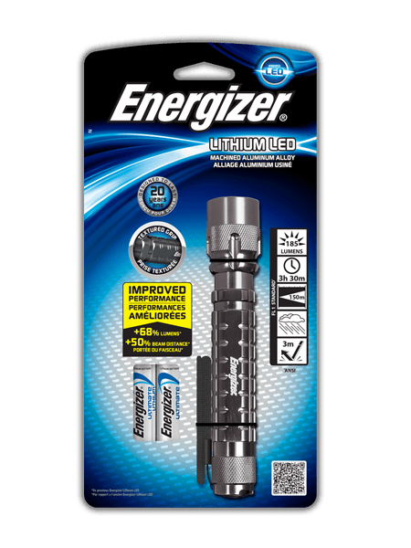 Energizer<sup>&reg;</sup> Lithium LED