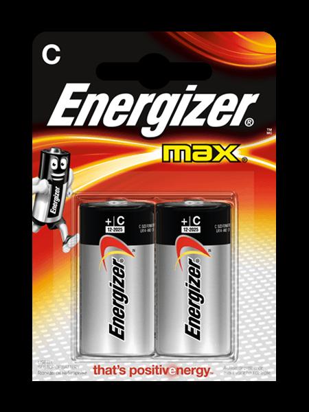 Щелочные Батарейки Energizer® Max – C
