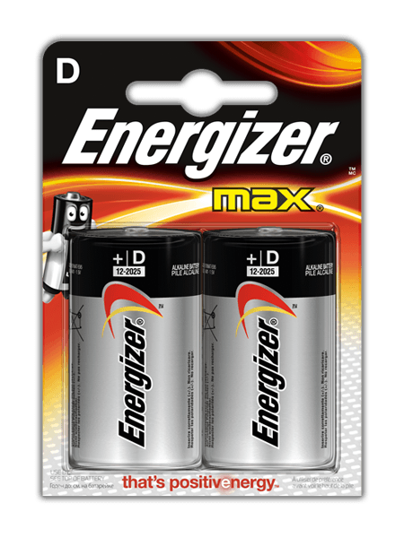 Energizer<sup>®</sup> Max – D