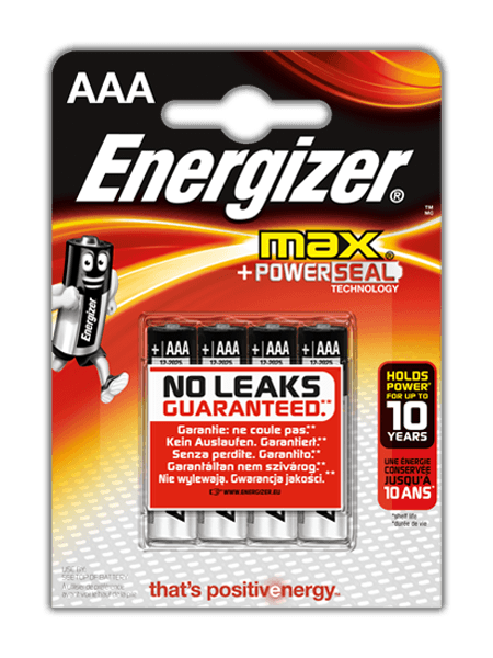 Baterie Energizer® Max – AAA