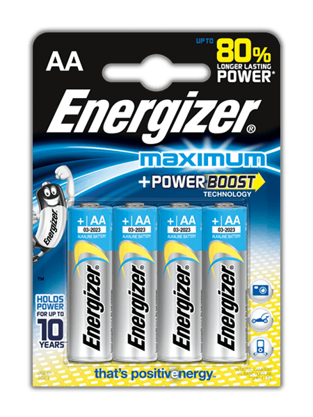 Baterie Energizer® Maximum – AA