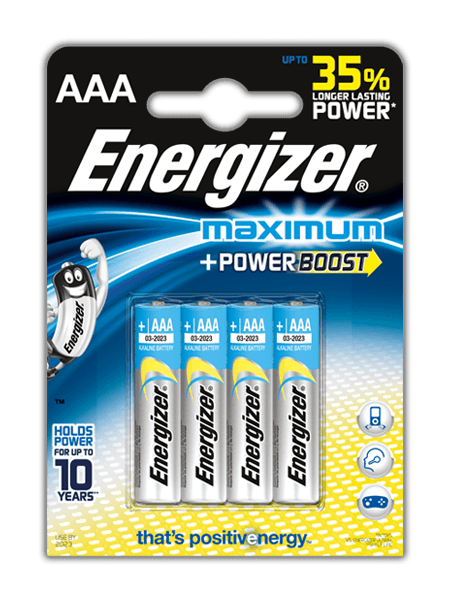 Baterie Energizer® Maximum – AAA
