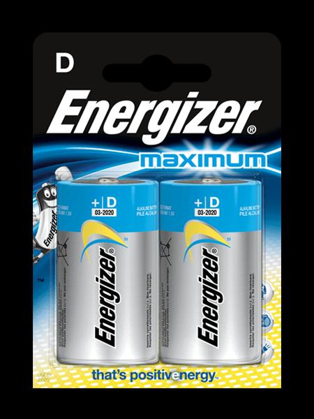 Baterie Energizer® Maximum – D